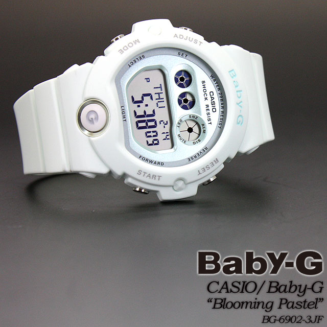 ★ ★ baby G blooming pastel BG-6902-3JF women ladies wrist watch CASIO g-shock g-shock G shock Casio ""
