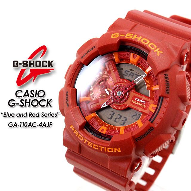 ★ domestic regular ★ ★ ★ CASIO/G-SHOCK / g-shock g shock G shock G-shock blue & red series watch / GA-110AC-4AJF