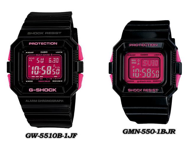 ★ domestic regular ★ ★ ★ CASIO/G-SHOCK G shock G-shock pair collection LOV-13SS-1BJR (GW-5510B-1JF/GMN-550-1BJF) Watch LOV-12A-7AJR