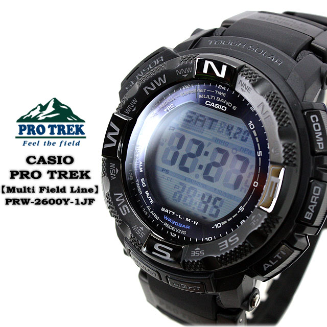 ★ ★ PRO TREK multiband 6 mens men's watch / PRW-2600Y-1JF CASIO g-shock G shock