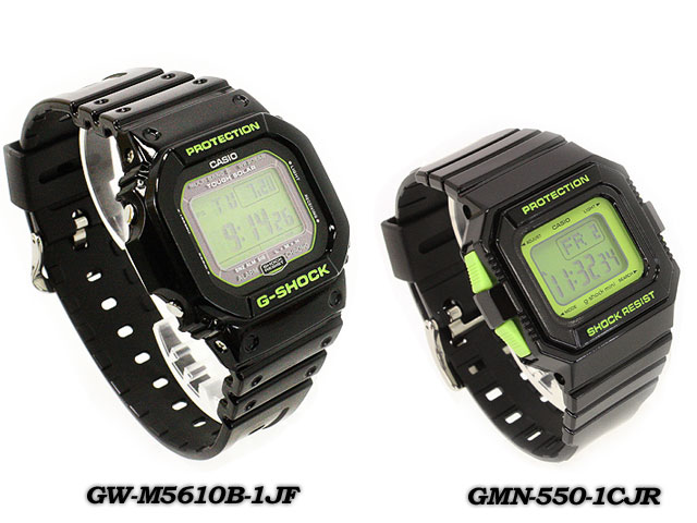 CASIO/G-SHOCK G shock G-shock pair collection LOV-13SM-1CJR (GW-M5610B-1JF/GMN-550-1CJR) Watch LOV-12A-7AJR