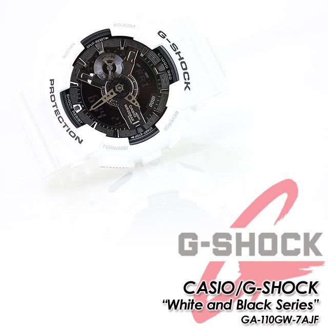 ★ domestic genuine ★ ★ ★ CASIO and g-shock white & Black series watch / GA-110GW-7AJF g-shock g shock G shock G-shock