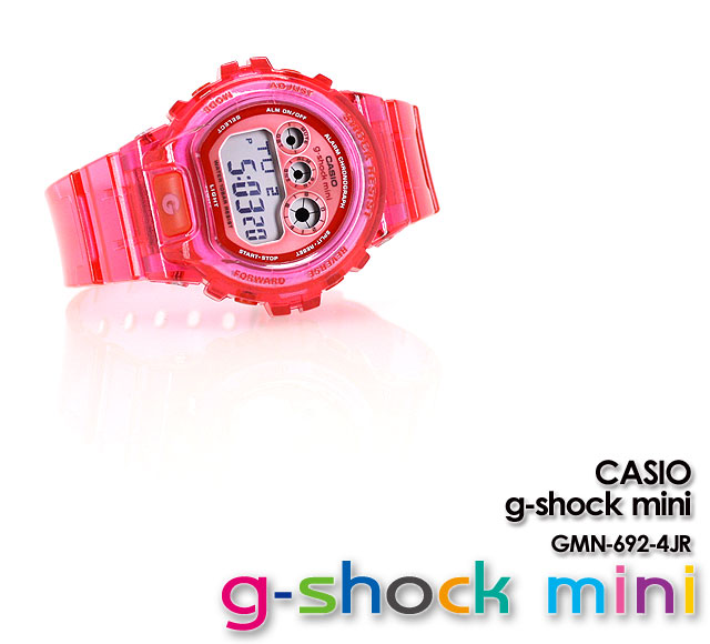 ★ ★ ★ domestic genuine ★ g-shock mini cleared GMN-692-4JR for ladies Womens watch CASIO g-shock g-shock G shock