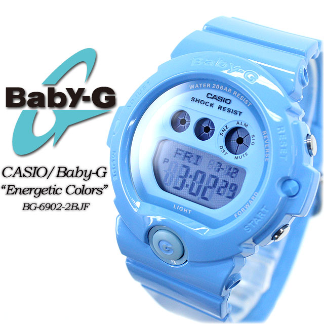 ★ ★ baby G energetic colors BG-6902-2BJF women ladies watch g-shock g-shock mini
