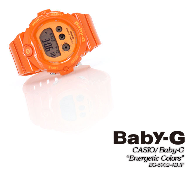 ★ ★ baby G energetic colors BG-6902-4BJF women ladies watch g-shock g-shock mini