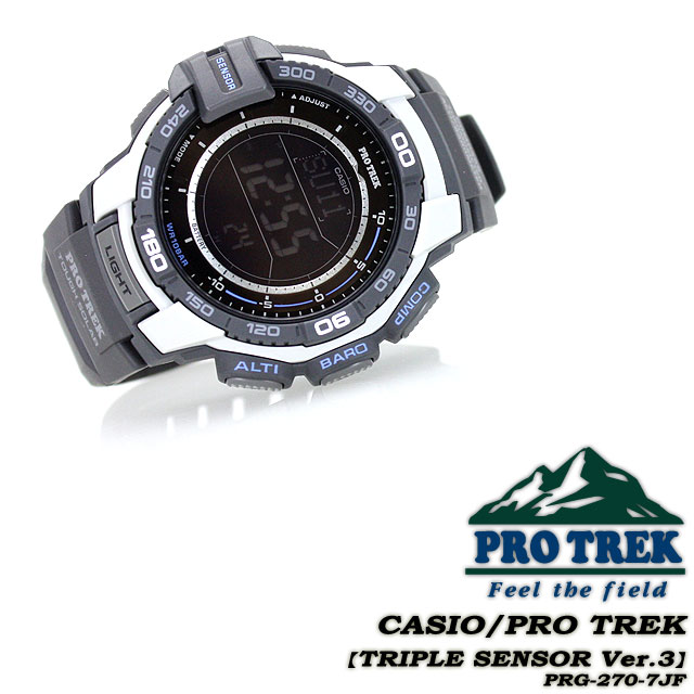 ★ ★ protrek mens men's watch / PRG-270 - 7kif CASIO g-shock G shock Casio ""