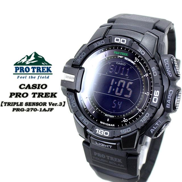 Casio Pro Trek PRG-550-1A9 - Review