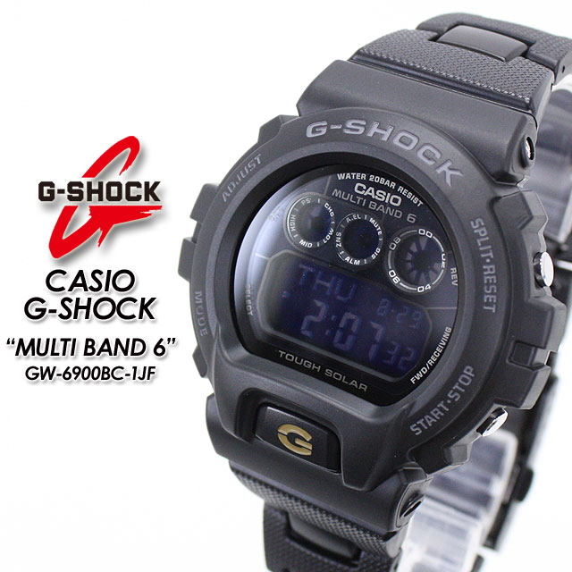★ domestic regular ★ ★ ★ CASIO/G-SHOCK g-shock g shock G shock G-shock wave solar watch / GW-6900BC-1JF