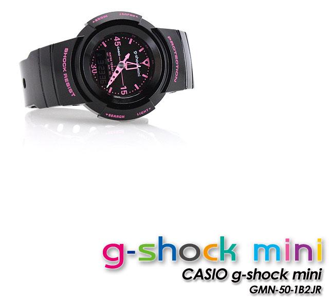 ★ ★ ★ domestic genuine ★ g-shock mini GMN-50-1B2JR/Black x Pink ladies Womens watch CASIO g-shock g-shock G shock