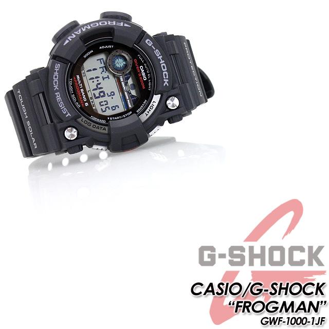 ★ domestic regular ★ ★ ★ CASIO g-shock solar radio G shock G-shock Master of G series Frogman watches / GWF-1000-1 JF
