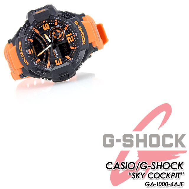 ★国内正规的物品★★★CASIO G-SHOCK SKY COCKPIT手表/GA-1000-4AJF g-shock g打击G打击G-打击