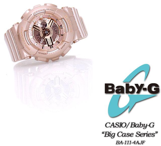 Baby G big case series BA-111-4AJF women ladies wrist watch CASIO g-shock g-shock G shock PIC