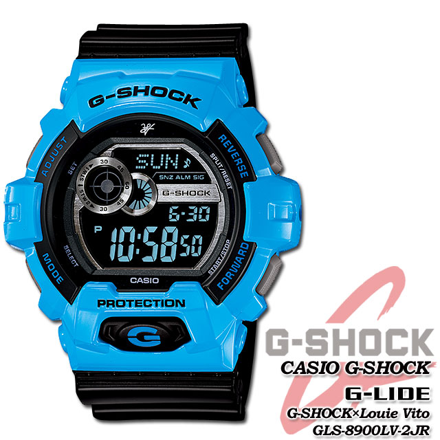 ★ domestic genuine ★ ★ ★ CASIO g-shock Louis-Vito 30th anniversary commemoration special collaboration model watch / G-LIDE GLS-8900LV-2JR g-shock g shock G shock G-shock