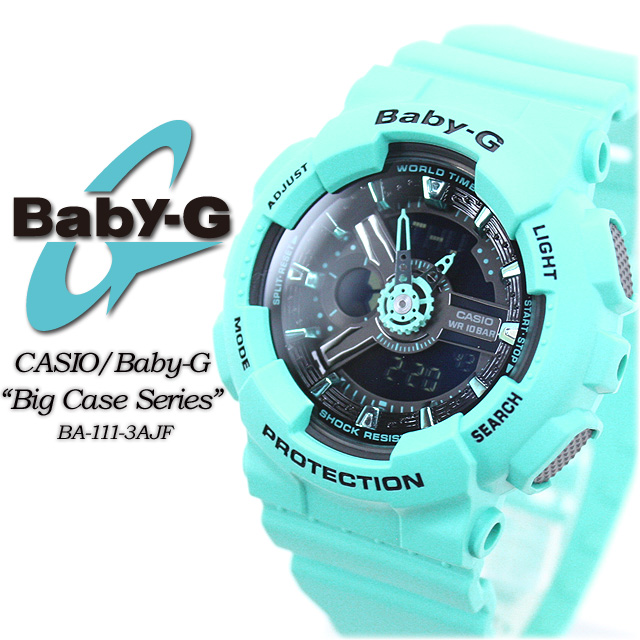 ★ ★ ★ domestic genuine ★ baby G big case series BA-111-3AJF women ladies watch CASIO g-shock g-shock G-shock