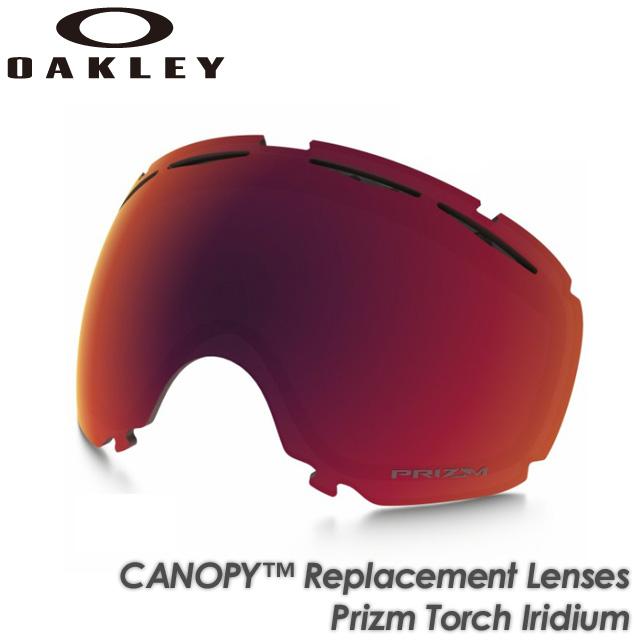 2018新発 【OAKLEY】オークリー【CANOPY】キャノピー Torch Replacement Lenses Prizm Replacement Torch スノーボード Iridium 101-243-003 交換レンズ スペアレンズ ゴーグル スキー スノーボード, ロコモショップ:de018844 --- pandiver.org