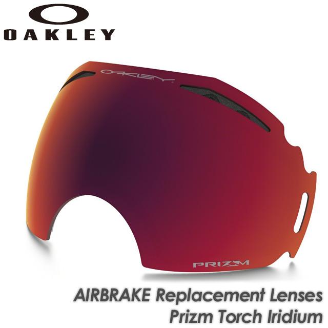 【OAKLEY】オークリー Lenses【AIRBRAKE】エアブレイク Replacement Lenses Prizm Iridium スキー Torch Iridium 101-242-003 交換レンズ スペアレンズ ゴーグル スキー スノーボード, GOODSMAN あんしんプラス:070d3b26 --- officewill.xsrv.jp