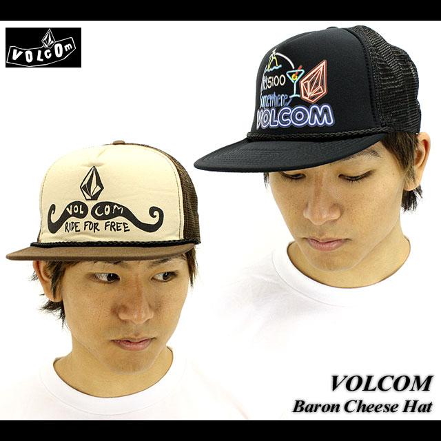 VOLCOM Baron Cheese Hat人/网丝盖子/帽子/溜冰/SK8(2011型号)