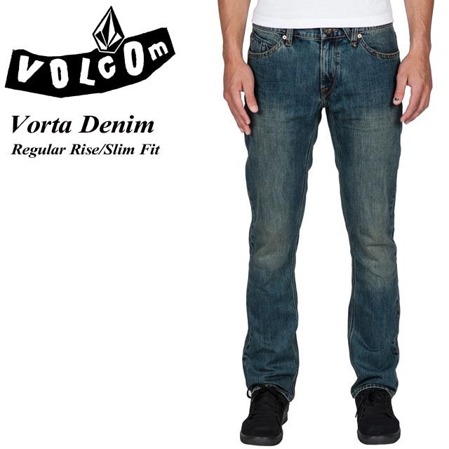ボルコム VOLCOM Vorta Denim MLO Regular Rise Slim Fit メンズ / スケート / SK8 / サーフィン