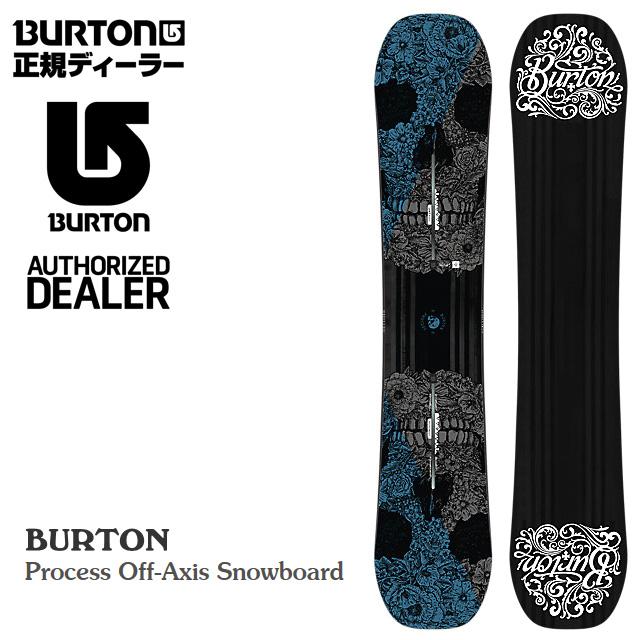 ★20%OFF★ バートン BURTON Process Off-Axis【プロセス オフアクシス】 メンズ 男性用 SNOWBOARD スノーボード