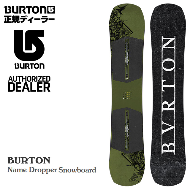 ★20%OFF★ バートン BURTON Name Dropper【ネームドロッパー】 メンズ 男性用 SNOWBOARD スノーボード