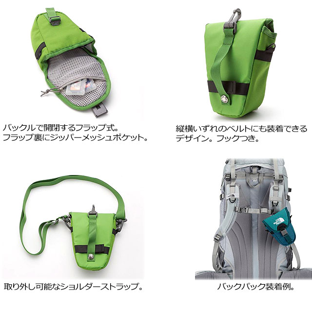 THE NORTH FACE SHOULDER STRAP ACC POCKET背包/挎包/门/数码照相机情况