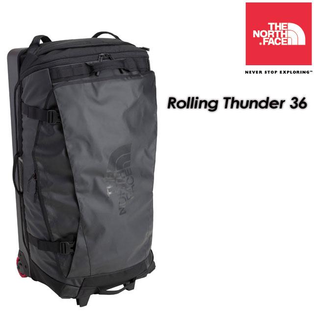 ★送料無料★ ノースフェイス THE NORTH FACE 【Rolling Thunder 36】ローリングサンダー36インチ ウィーラーバッグ / ラゲッジバッグ / キャリーバッグ /旅行バッグ / NM81808