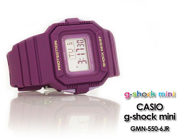 CASIO/G-SHOCK/G shock G-shock g-shock mini g-shock mini ladies watch GMN-550-6JR/purple ladies 'response.
