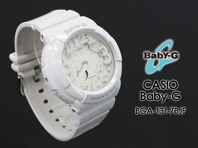 CASIO/G-SHOCK/g-shock g shock G shock G-shock baby-g baby G baby g ladies Watch (neon dial series) BGA-131-7BJF ladies watch