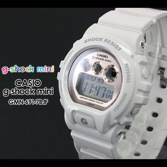 CASIO/G-SHOCK/G shock G-shock women GMN-691-7BJF/white/pink Lady's [fs01gm]