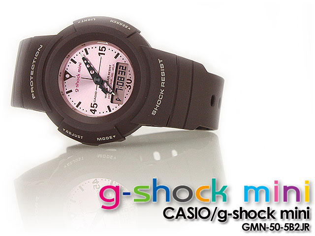 ★ ★ CASIO/G-SHOCK/g shock G shock G-shock g-shock mini g-shock mini ladies watch GMN-50-5B2JR / Brown x Pink ladies