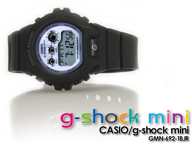 CASIO/G-SHOCK/g shock G shock G-shock G-shock mini g-shock mini women watch GMN-692-1BJR/ mat black X light blue Lady's [fs01gm]