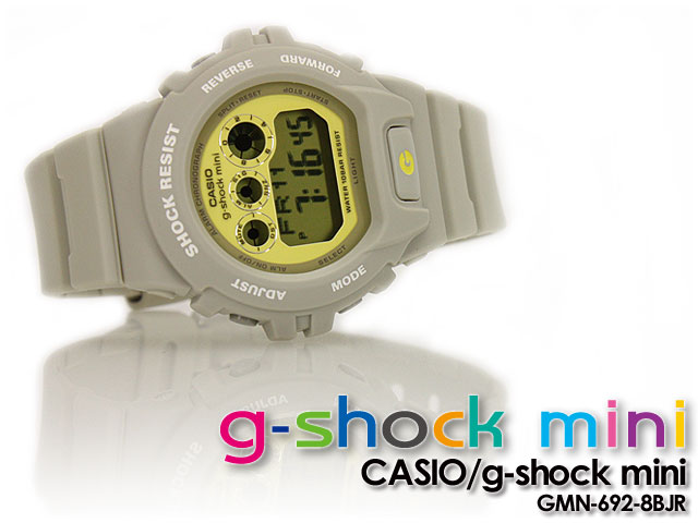 ★ ★ CASIO/G-SHOCK/g shock G shock G-shock g-shock mini g-shock mini ladies watch GMN-692-8BJR / icegre / yellow women