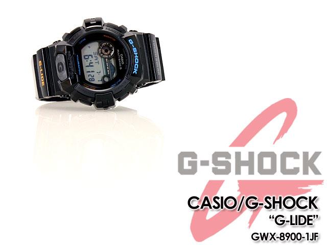 CASIO/G-SHOCK/g-shock g shock G shock G- shock [G-LIDE] G ride 2012 summer model watch /GWX-8900-1JF/black [fs01gm]