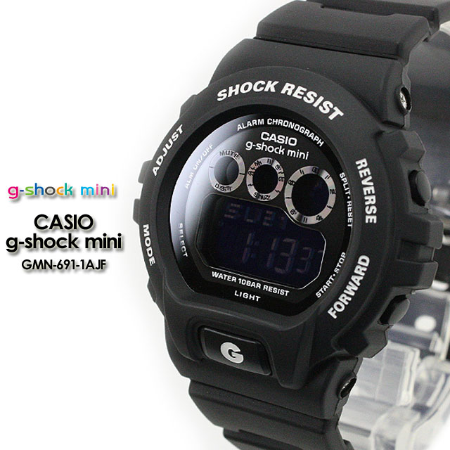 CASIO/G-SHOCK/G shock G-shock G- shock mini g-shock mini/ women watch GMN-691-1AJF/matte black Lady's [fs01gm]