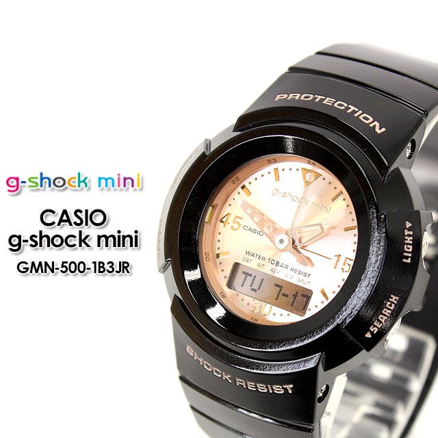 4407d6c7cf60 CASIO G-SHOCK g shock G shock G-shock g-shock mini g-shock mini ladies watch  GMN-50-1B3JR black pink gold ladies