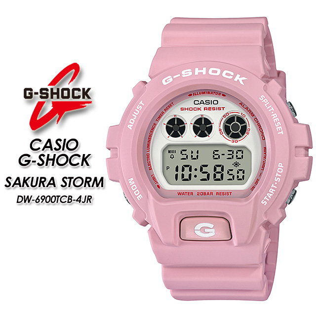 G-ショック Gショック DW-6900TCB-4JR CASIO / G-SHOCK【カシオ ジーショック】SAKURA STORM 腕時計 国内正規品