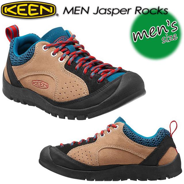 キーン【KEEN】ジャスパー ロックス 【MEN Jasper Rocks】 男性用 メンズ / ハイキング / アウトドアシューズ 1013301 Starfish/Racing Red