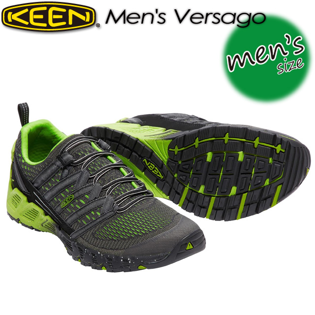 ★SALE30%OFF!送料無料★ キーン【KEEN】Men's Versago 【ヴァーサゴー】 男性用 メンズ / ハイキング / アウトドアシューズ 1016849 Black/Greenery