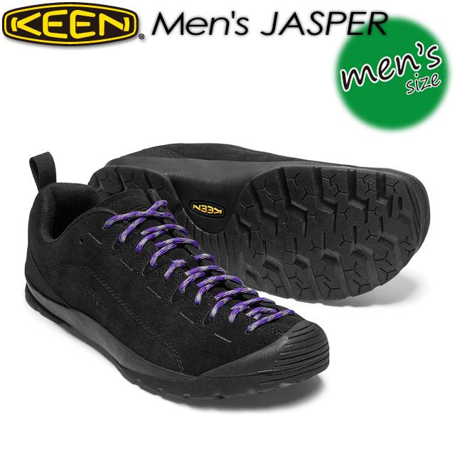 キーン【KEEN】ジャスパー【MEN Jasper】 男性用 メンズ / ハイキング / アウトドアシューズ 1017349 BLACK/BLACK