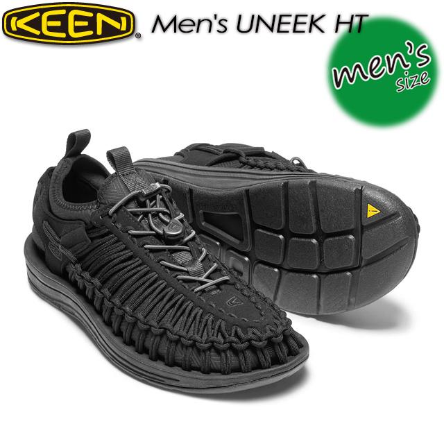 キーン【KEEN】ユニーク エイチティー【MEN UNEEK HT】 男性用 メンズ / ハイキング / アウトドアシューズ 1018025 BLACK/BLACK