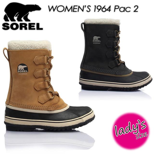 ソレル 【SOREL】1964パック 2 【1964 Pac 2】NL1645 ブーツ レディース 女性用 正規品