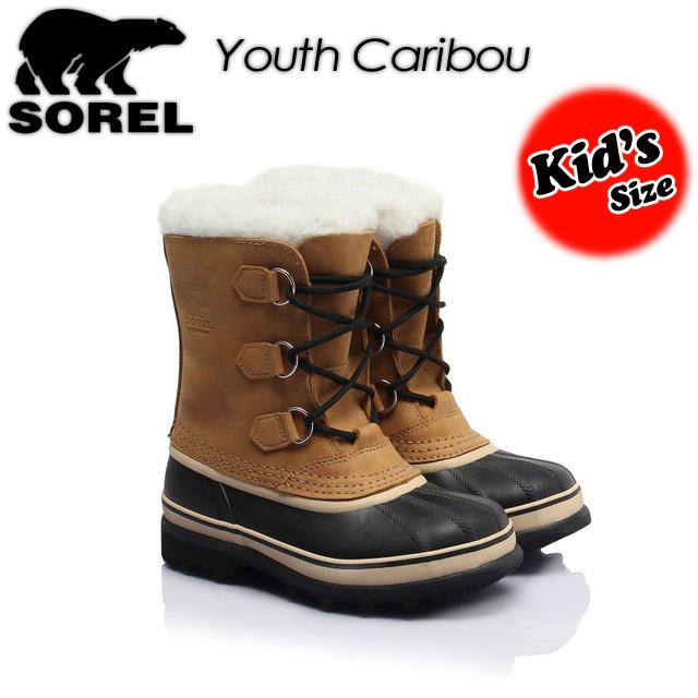 ソレル 【SOREL】 ユース カリブー【Youth Caribou】 LY1000 ブーツ キッズ 子供用