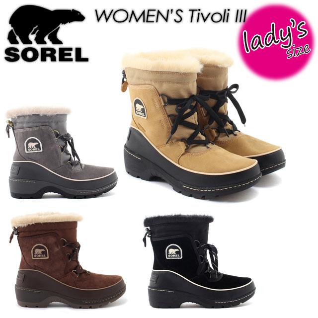 ソレル 【SOREL】 【Tivoli III】ティボリIII NL2532 ブーツ レディース 女性用