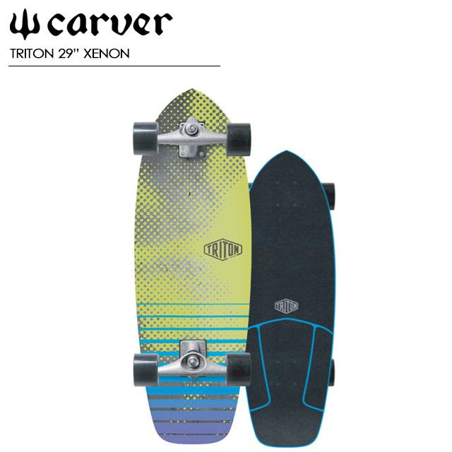 """カーバー スケートボード 【CARVER SKATE BOARDS】【TRITON 29"""" XENON】CX.4 TRACK コンプリート サーフスケート スケートボード スノーボード"""