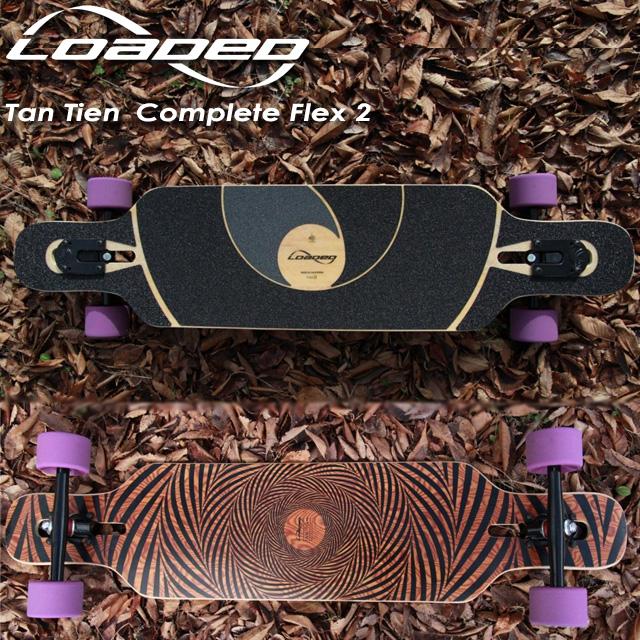 【LOADED】ローデッド 【Tan Tien Complete】タンティエン 【Flex 2】 ロングスケート クルーザー サーフスケート スケートボード スノーボード コンプリート