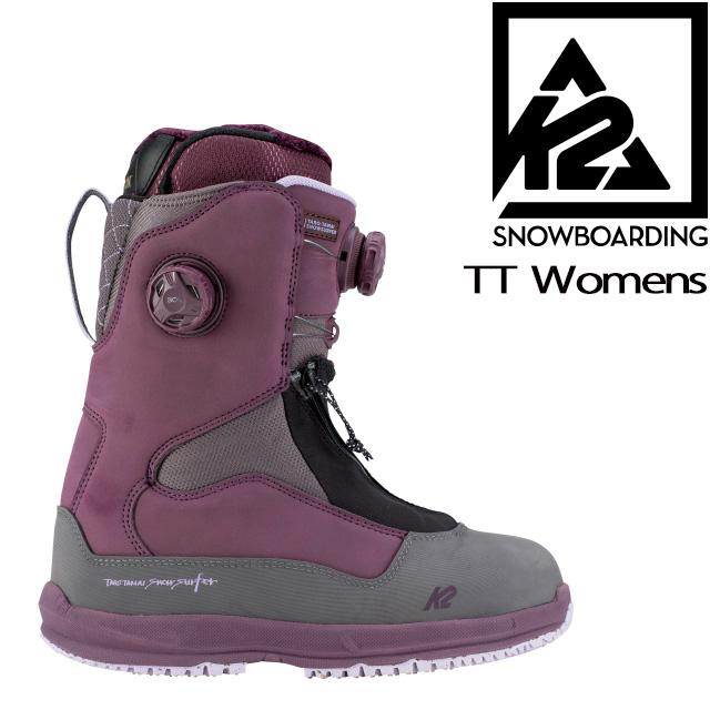 【K2 SNOWBOARDING】【TT Womens】GENTENSTICK レディース 女性用 ブーツ スノーボード パウダー