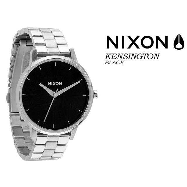 ◆送料無料◆ ニクソン NIXON 【THE KENSINGTON】BLACK 腕時計 レディース 女性用
