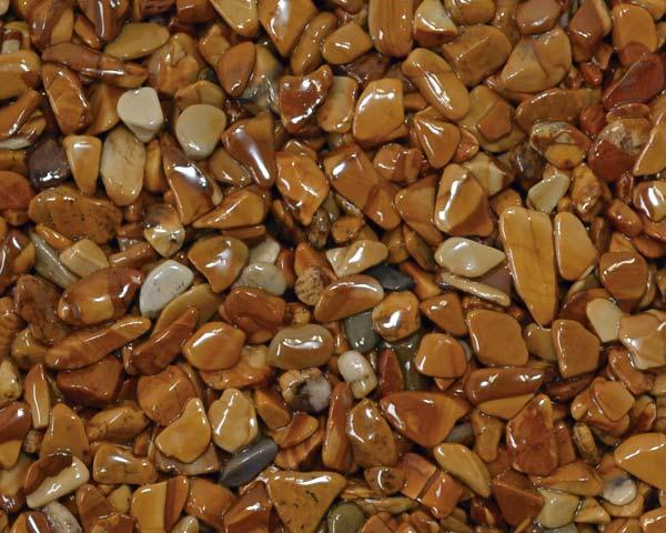 代引き不可 送料無料 『1年保証』 乾燥樹脂舗装砂利 激安☆超特価 黄金 20kg 3-6mm 5袋セット