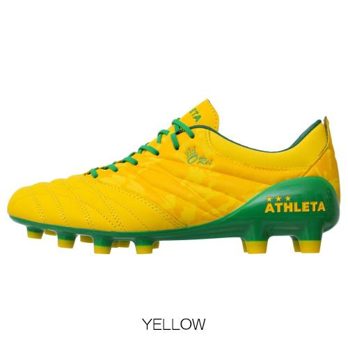 O-Rei Futebol T001 アスレタ ATHLETA オーヘイ スパイク サッカーシューズ シューズ 靴 サッカー フットボール フットサル BLACK YELLOW 22.5-29.0cm 10002