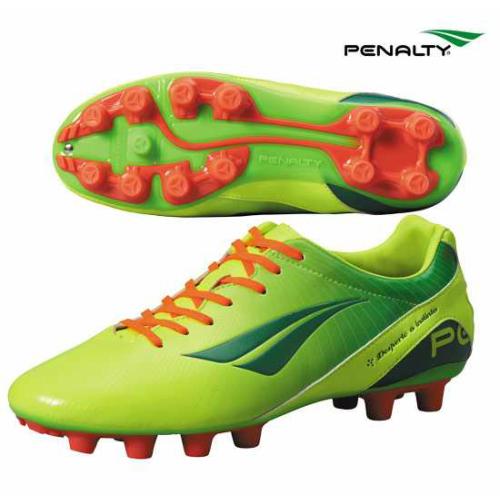 FORMA-FYFG PENALTY ペナルティ フォルマ - FYFG スパイク サッカーシューズ シューズ 靴 サッカー フットボール フットサル YELLOW GREEN ORANGE 24.5-28.0cm PF4102